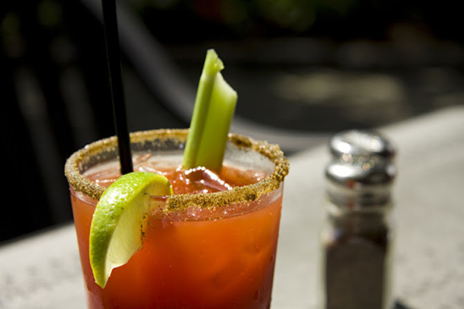 The Weird Reason Why You Should Drink a Bloody Mary on a Plane