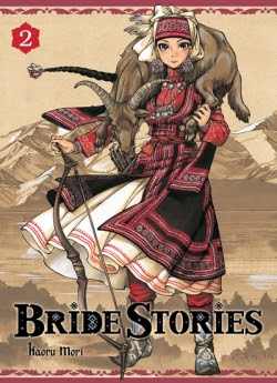 Couverture Bride Stories, tome 2