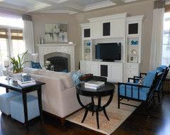 Corner Fireplace Decorating Ideas - Houzz