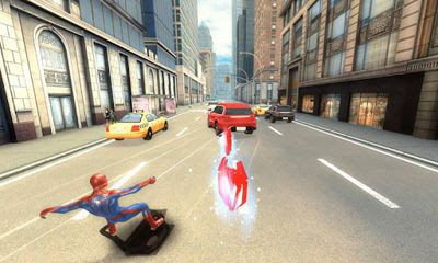 The amazing spider-man 2 lands on android, ios and windows phone.