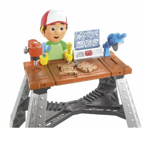 Toy Work Bench Fisher Price Fix It Right Manny S Repair Shop