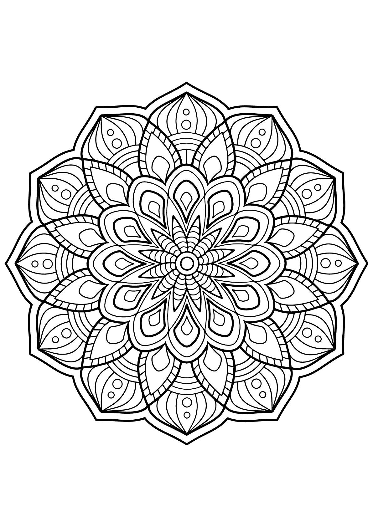 Mandala Livre Gratuit 3