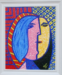 Doncella, estilo Picasso