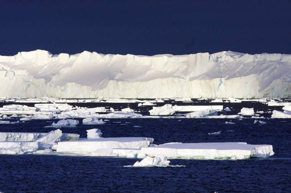 El glaciar Totten se derrite