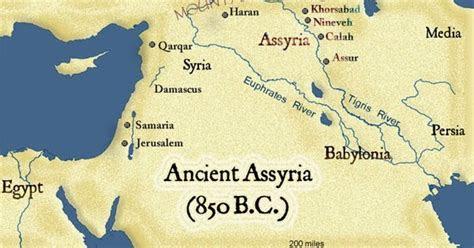 sekilas tentang peradaban assiria buih kata