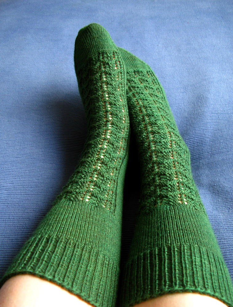 Gentleman's Sock for Evening Wear