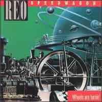 [REO Speedwagon Wheels Are Turnin' Album Cover]
