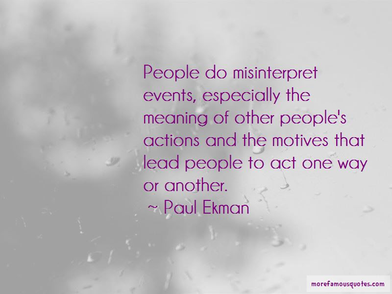 Quotes About Other Peoples Actions Top 14 Other Peoples Actions