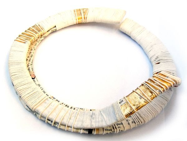 LerènieS   Contemporary Paper Jewelry