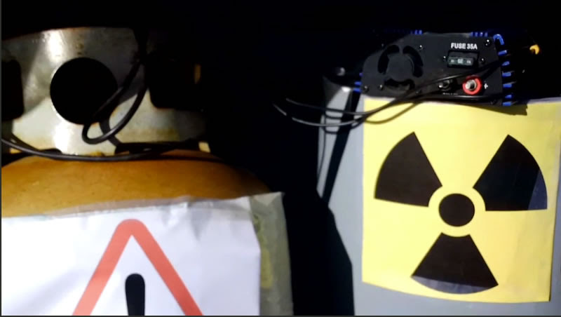 Bomb with Anthrax and Nuclear components