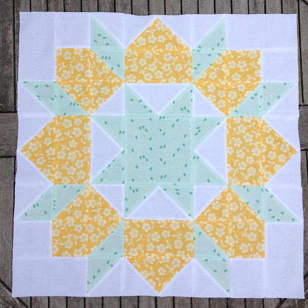 Block 3 #swoon2013 Flying through these and loving the process, totally my kind of piecing!