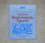 Karl Richter and the Munich Bach Orchestra (Archiv LP box cover)