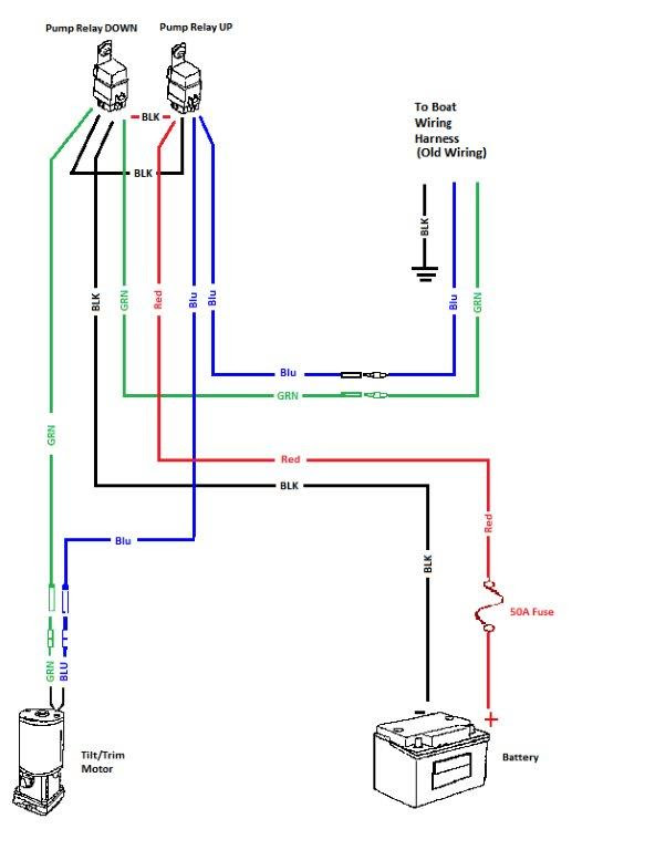 31 Mercruiser Tilt Trim Wiring Diagram