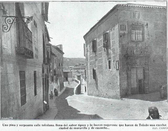 Colegio de Infantes en la Plaza de la Bellota  hacia 1923. La Esfera