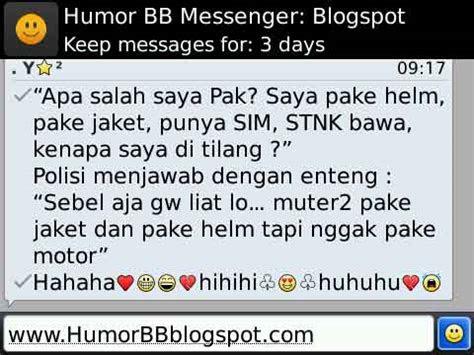 tilang humor blackberry messenger humor