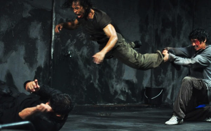Learn how to make, film fight scenes and learn fight choreography like in this image from The Raid.