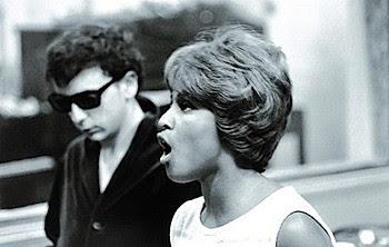 Darlene Love and Phil Spector