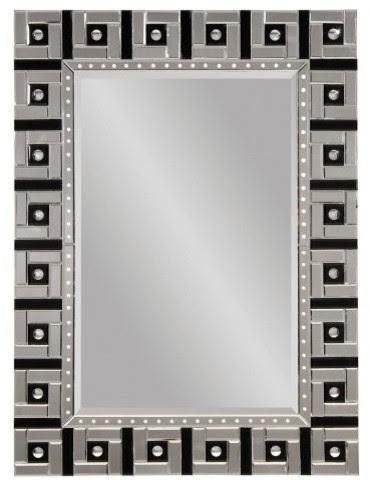 Art Deco Venetian Full Length Leaning Floor Mirror - 36W x 48H in ...