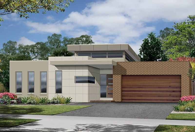 Proiecte de case moderne pe un singur nivel  spatii deschise  Case practice