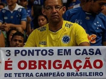 Cruzeiro Torcida Faixa Futebol