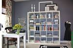 Office Workspace: Ultra Modern Home Office Design With Ikea ...