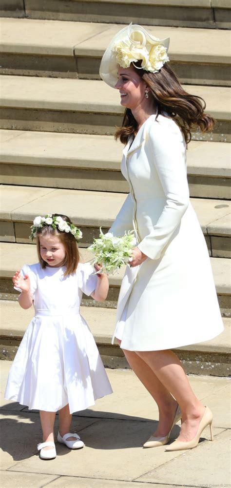 Kate Middleton wears Alexander McQueen to Meghan & Harry's