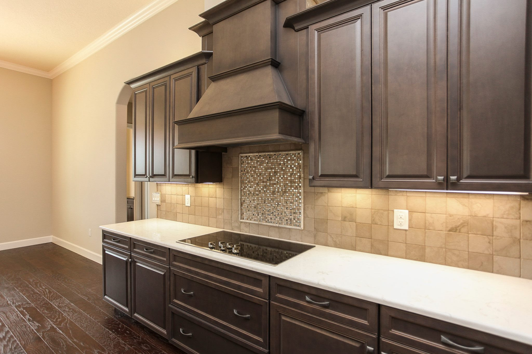 New Kitchen Construction with Marsh Cabinets, Stanisci ...
