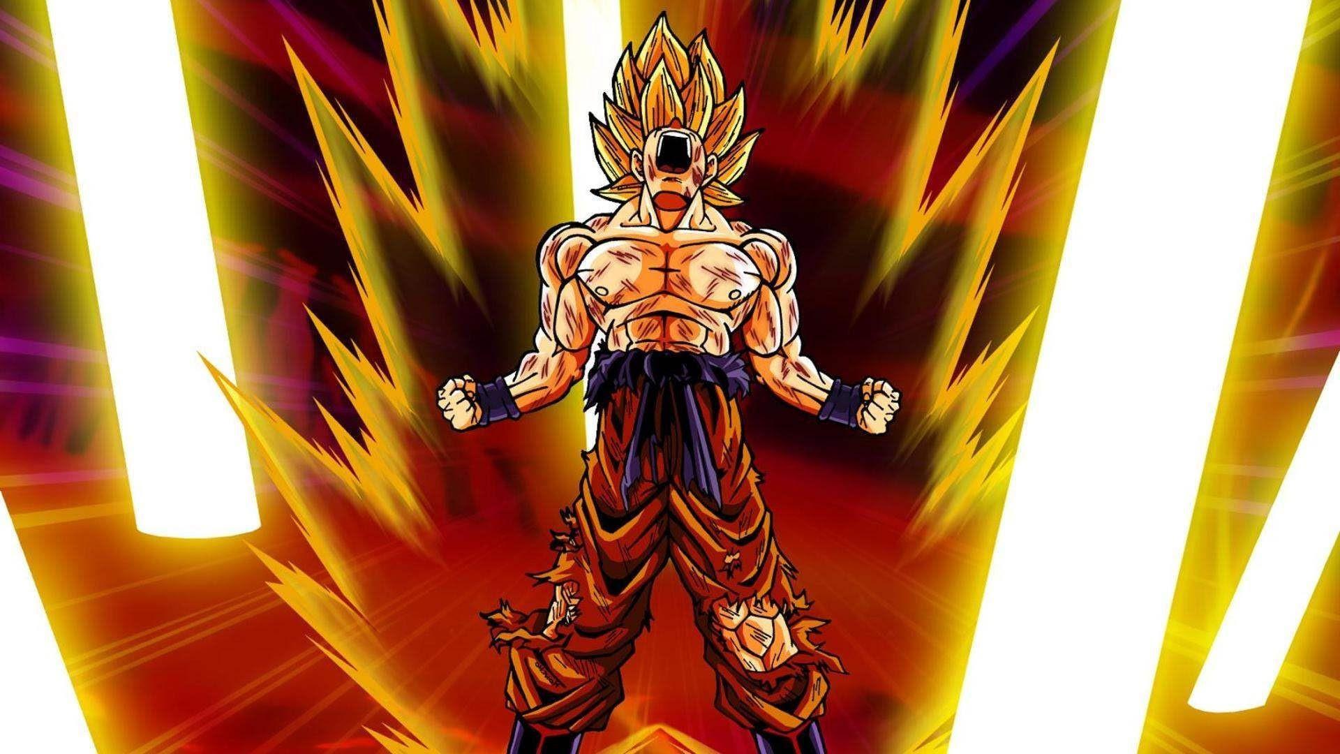Goku Super Saiyan Wallpaper 72 Images