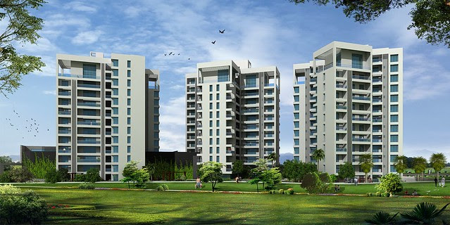 Grand Stand - on the other side of Mumbai Bangalore Bypass, next to Wonder Funkey - Kothrud Pune 411 038 - from NDA Hills