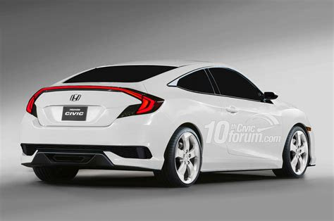 honda civic coupe hatchback  sedan rendered