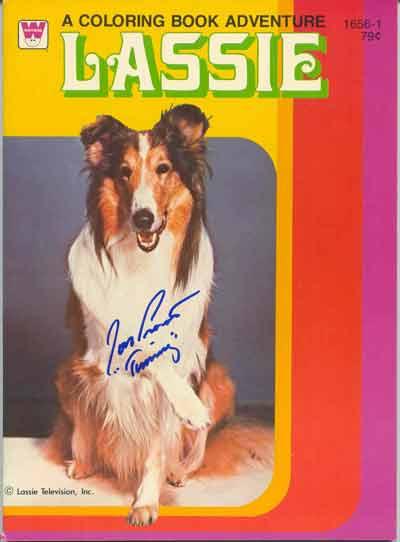 Lassie Colouring Book