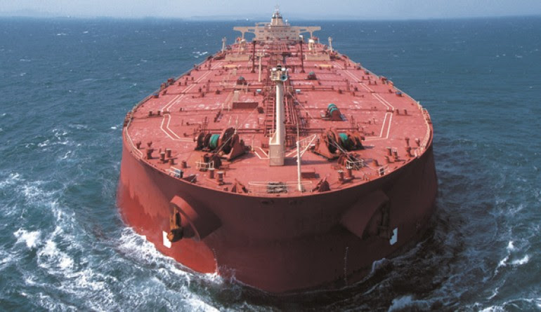 VLCC fleet growth downside from second half next year