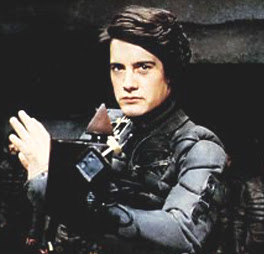 Paul Atreides, as portrayed by Kyle MacLachlan...