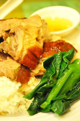 roast goose rice