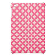 Sweet Pink Pattern Cover For The iPad Mini