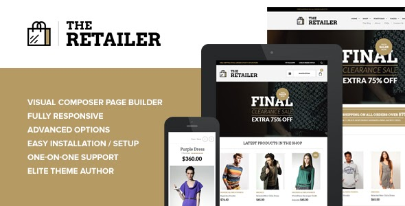 The Retailer v2.11 - Responsive WordPress Theme