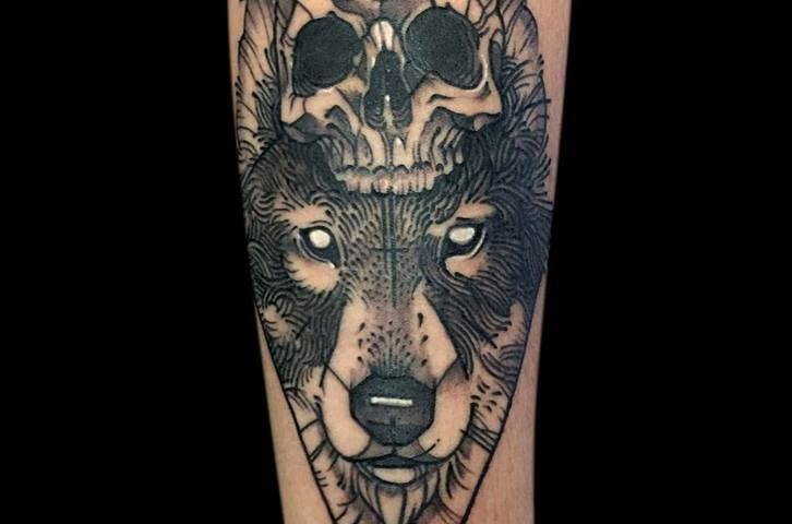 Catrinas Y Calaveras The Black Blood Tattoo