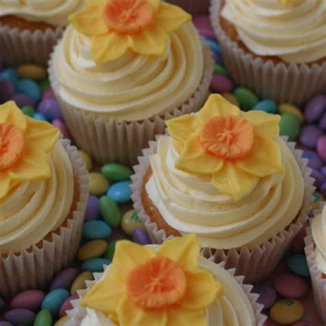 Daffodil cupcakes for St Davids Day   March 1st.   St