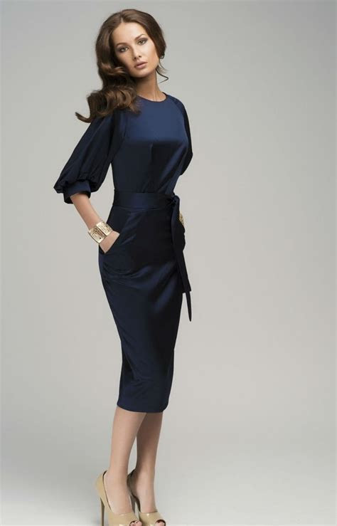 1000  ideas about Navy Blue Midi Dress on Pinterest   Blue