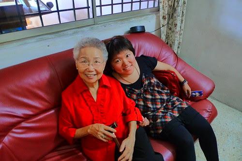 Sister with Grandma