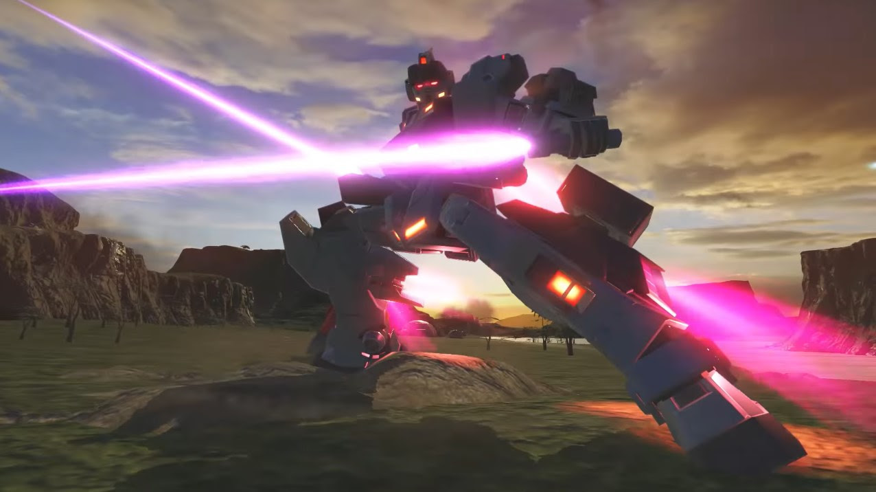 Baund Doc and Pale Rider (Ground Type) take off in new Gundam Versus trailers screenshot