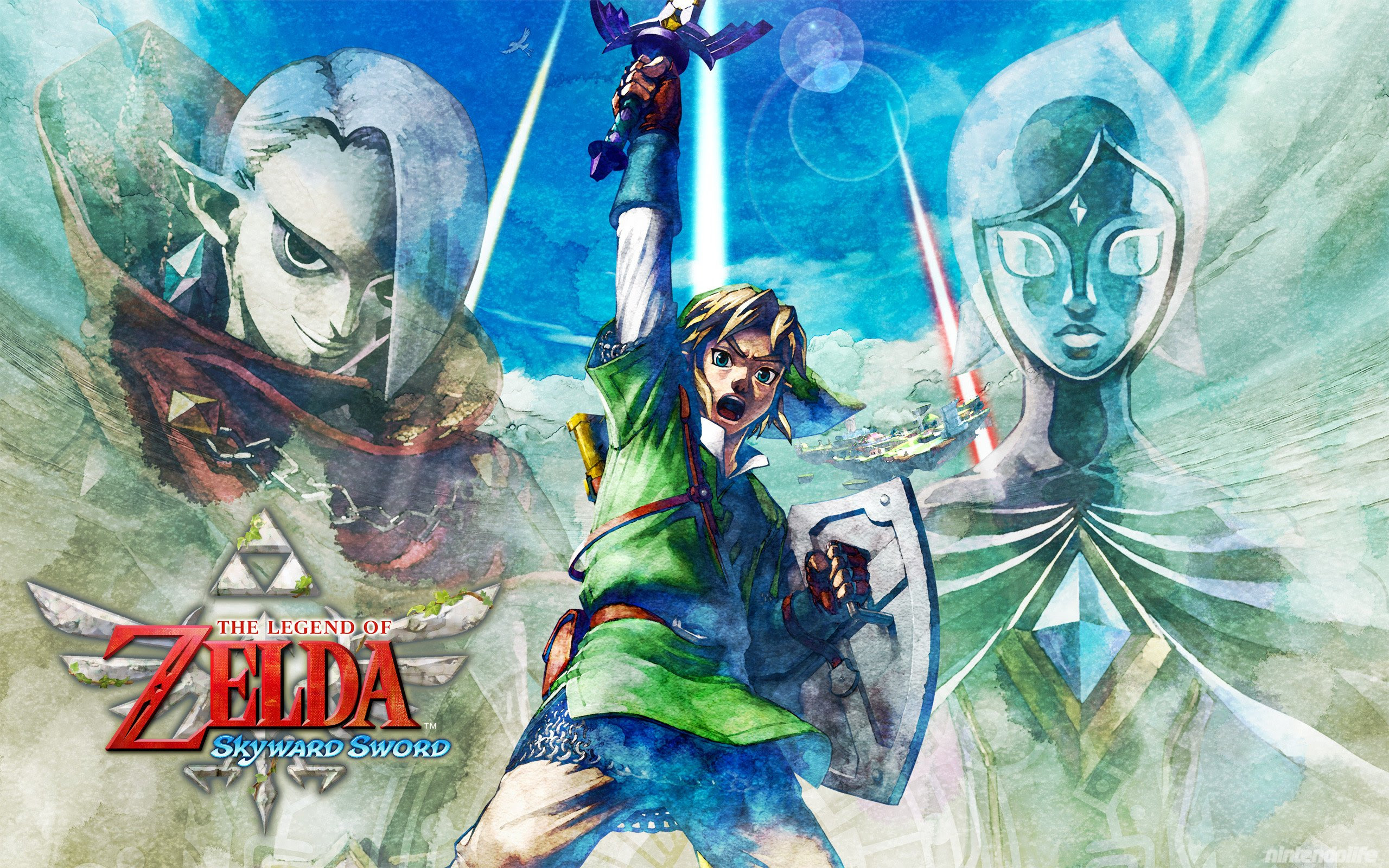 Out Today The Legend Of Zelda Skyward Sword And Wallpapers
