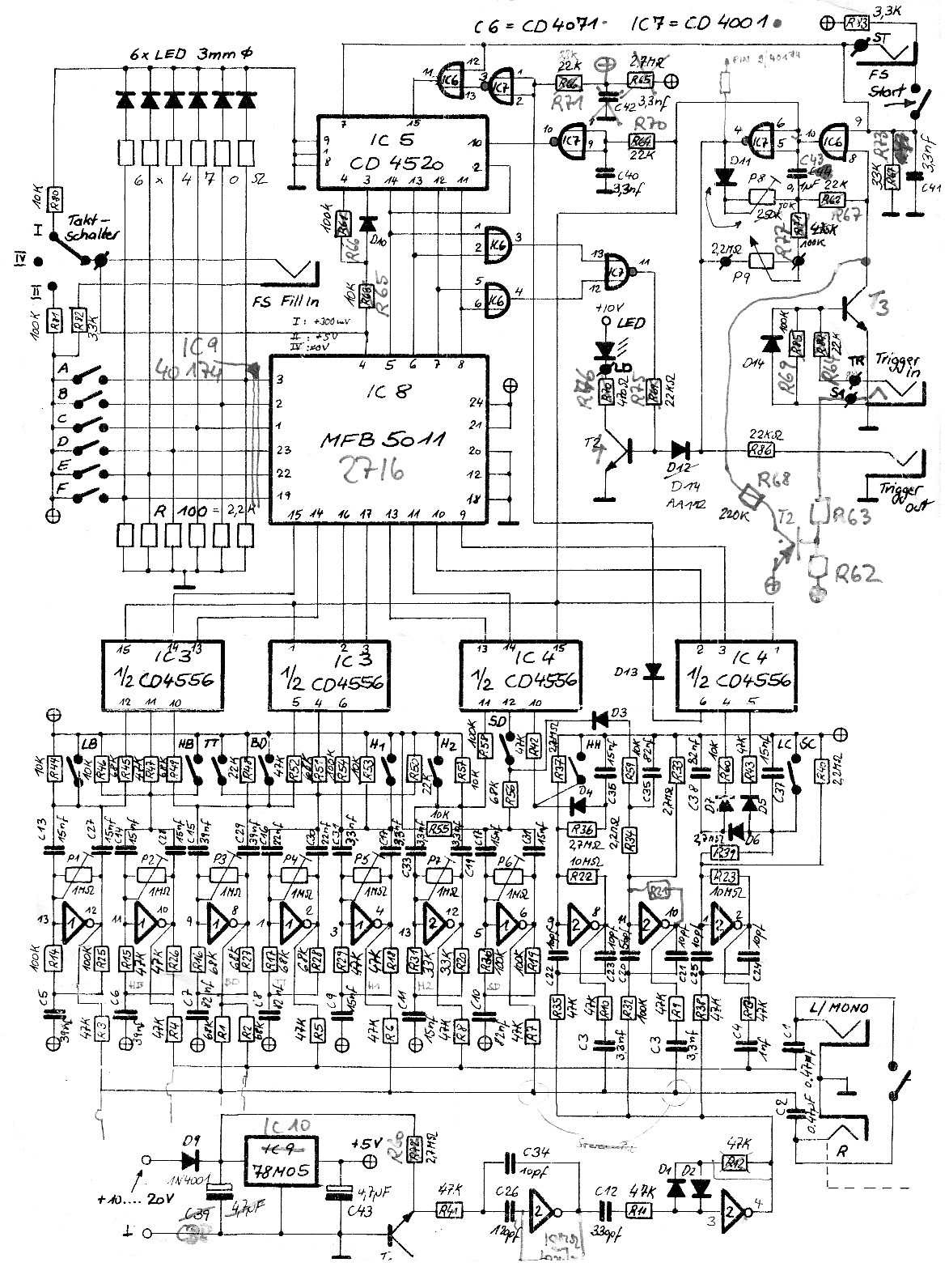 Synthesizer Service Manuals Free Download
