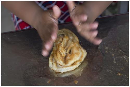 Making a Roti