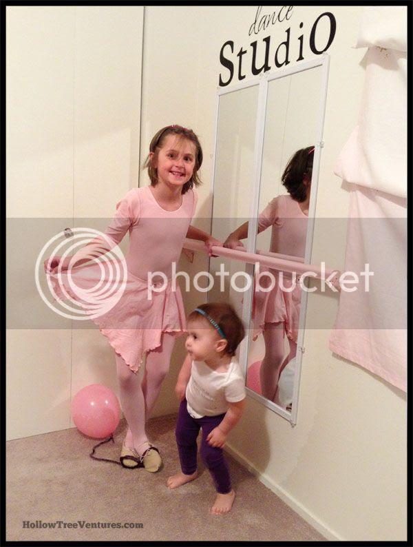 DIY Dance Studio sisters dancing