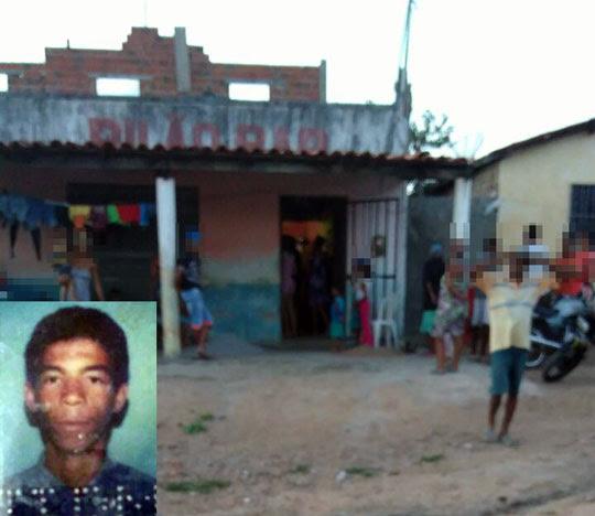 Corpo de homem foi encontrado com perfuações em cima de laje em Queimadas | Foto: Notícias de Santaluz