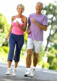 Photo: Senior couple walking
