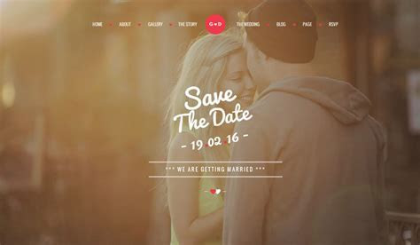 80 Best Wedding Website Templates Free & Premium