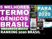 5 MELHORES TERMOGENICOS do BRASIL 2020 Ranking Brasileiro Melhores Queimadores Gordura Casa Maromba