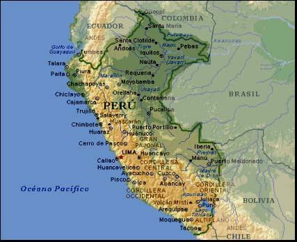 Resultado de imagen de mapa de perú